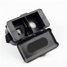 NJ Head Mount Virtual Reality 3D Video Glass Cardboard For Cellphone