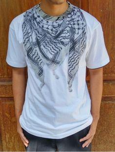Kaos 3D Putih Lengan Pendek