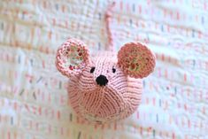 Learn to Knit A Tea Mouse in Bellingen, New South Wales Next Week, Knitting Designs, Knitting Yarn, Crochet Earrings, Tea, South Wales, Learning, Sewing, Crafts