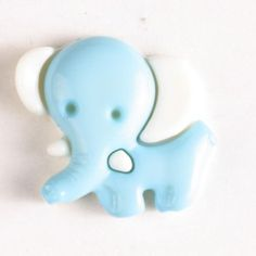 Elephant button Size: 20mm Color: green-230905-20