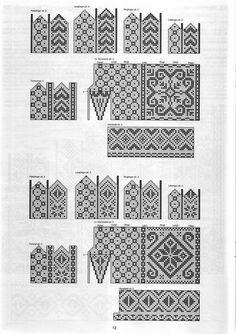 "Photo from album ""Selbustrikk on Yandex. Knitting Stitches, Yandex Disk, Views Album, Mittens, Sewing, Pattern, Gloves, Scandinavian, Crochet"