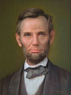 Abraham Lincoln by Ken Corbett Greatest Presidents, American Presidents, American History, Beard Without Moustache, Rare Photos, Vintage Photos, Abraham Lincoln Family, Us Slavery, Mr President