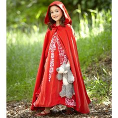 Princess Red Riding Hood Child Costume from Costume Express on Catalog Spree, my personal digital mall.  #catalogspree