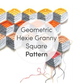 Free Crochet Pattern - Geometric Hexie Granny Square blanket by Steel & Stitch - on the LoveCrochet Blog