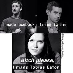 Yup. They got nothin on her. Hehehe lol. Veronica Roth meme. Tobias Eaton. Divergent Insurgent Allegiant.