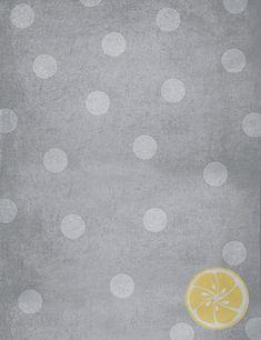 LemonDrop Stop Distressed Grey Dots | PolyPaper Photography Backdrops | LemonDrop Stop Photography Backdrops and FloorDrops