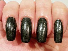 Kleancolor Metallic Black - a metallic/foil black. Click the image for more!