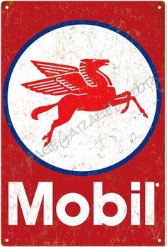Mobil Oil Motor Oil And Gas Sign Garage Art Aluminum for Like the Mobil Oil Motor Oil And Gas Sign Garage Art Aluminum? Garage Signs, Garage Art, Vintage Labels, Vintage Posters, Pompe A Essence, Vintage Metal Signs, Vintage Wood, Style Retro, Old Signs