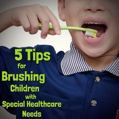 Getting kids to brush isn't always easy and getting those with special healthcare needs to brush sometimes requires outside the box thinking.  This article has 5 tips to help you do just that!  http://ift.tt/1O5uFqy - Plainfield Pediatric Dentistry | (815) 439-7811 | http://ift.tt/1pZzqIU