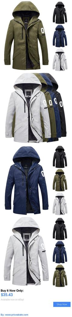 33e7987865c Men Coats And Jackets  New Mens Military Winter Fashion Casual Hooded Coat  Jacket Warm Outwear