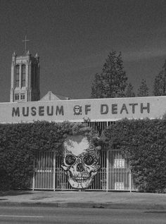 The World Famous Museum of Death was founded in June, originally located in San Diego, then reopened in Hollywood, California.The Museum of Death Memento Mori, Museum Of Death, The Black Dahlia Murder, San Diego, Post Mortem, Parcs, Skull Art, Skull Icon, Art Design