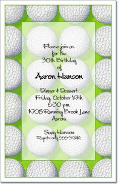 Golf Invitations Score Party Are Great For A Outing Bachelor
