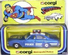 Corgi Metropolis Police car