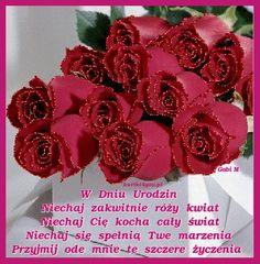 Birthday Quotes, Happy Birthday, Recipe, Cute, Polish, Pictures, Happy Brithday, Anniversary Quotes, Urari La Multi Ani