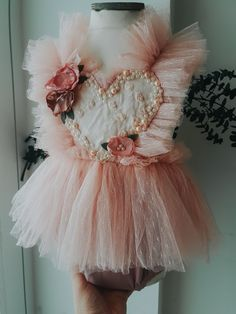 Custom rompers for photographers and first birthdays Girls Dresses Sewing, Frocks For Girls, Baby Girl Dresses, Flower Girl Dresses, Little Girl Fashion, Toddler Fashion, Kids Fashion, Baby Tutu Tutorial, Girls Frock Design