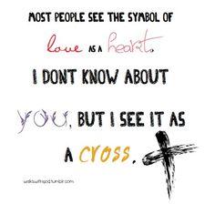 The TRUE symbol of love