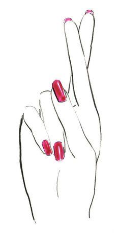 Ideas for fashion sketches wallpaper art illustrations White Finger, Nail Logo, Crossed Fingers, Finger Tattoos, Fashion Sketches, Mail Art, Fashion Art, Art Drawings, Pop Art