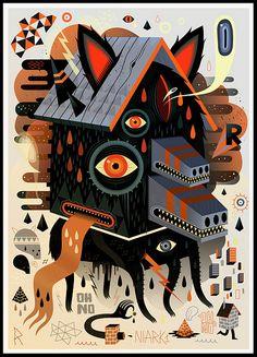 Doom Beast | Illustrator: NIARK1 - http://www.flickr.com/photos/niark1