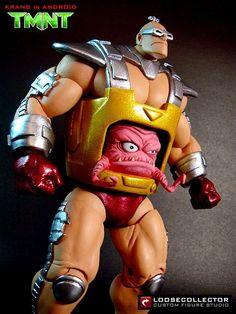 Krang in Android (Teenage Mutant Ninja Turtles) Custom Action Figure LooseCollector is THAT DUDE!
