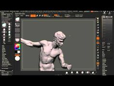 01/Sculpting Study from a Roberto Ferri painting: Sculpting with voiceover comments - YouTube