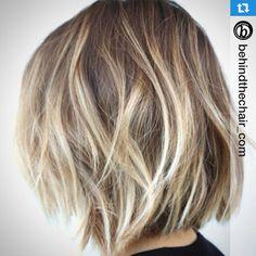 Hair goal...love the highlights & kick ass cut!! ✌️