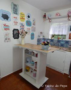 Reforma da cozinha ou cozinha cenográfica.. - O tacho da Pepa
