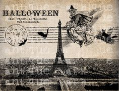 Paris Halloween Witch