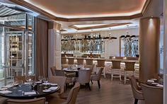 French #Luxury and #Upscale dining at Villa Azur in #MiamiBeach