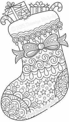 331 Best Adult Coloring Christmas Images In 2019