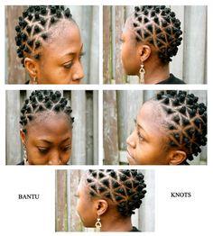 wonderfull to see Bantu Knots Short Hair, Bantu Knot Hairstyles, African Hairstyles, Black Hairstyles, Protective Hairstyles, Natural Hair Types, Natural Hair Art, Goddess Braids Updo, Hair Patterns