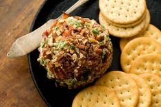 Make your own Jalapeno Bacon Cheese Ball. No more store bought! Great for holiday parties.