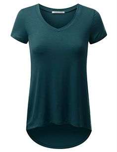 URBANCLEO Womens Hi-Lo V-Neck Tunic T-shirt TEAL MEDIUM URBANCLEO http://www.amazon.com/dp/B01979MSYA/ref=cm_sw_r_pi_dp_hFVfxb1K0MAEH