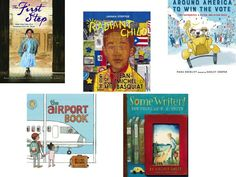 Nominees for the 2016 Nerdy Book Awards for Picture Books for Nonfiction