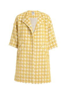 Deena yellow check coat