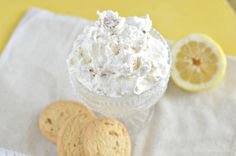 This lemon ginger cookie salad is perfect for a picnic or summer get together. It is easy to make and a real crowd pleasing sweet treat appetizer.
