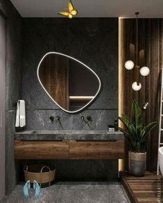 <br> Bathroom Design Luxury, Home Interior Design, Modern Small Bathroom Design, Washroom Design, Interior Colors, Luxury Interior, Modern Furniture Design, Modern Home Interior, Bistro Interior
