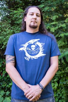 """Planet Ocean"" Organic T-Shirt"
