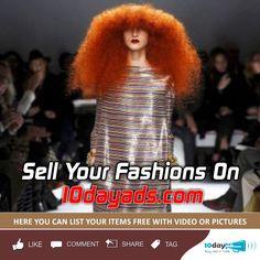 Sell your Fashions on 10dayads.com #Sell #Fashion #FreeOnlineFashionAds #FashionAdsPosting