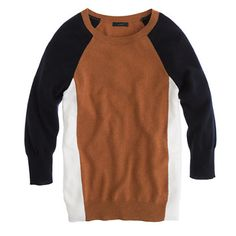J.Crew - Collection cashmere colorblock sweater