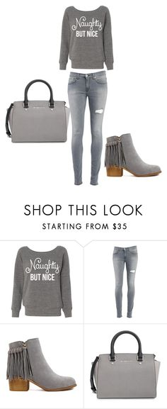 """Bez naslova #2"" by irnyhaly ❤ liked on Polyvore featuring moda, Dondup e MICHAEL Michael Kors"