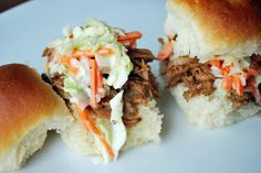 Just Another Day in Paradise: Rootbeer Pulled Pork with Coleslaw
