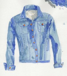 A jeans jacket, a great way to dress down the Classic look.