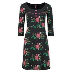 Dress Tammy Bouquet Black