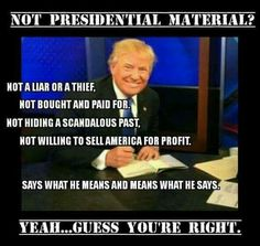 Presidential material