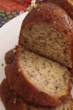 Banana bundt cake For the past few months I have been on a cookbook collecting spree! For days, I researched. Banana Bundt Cake, Bundt Cake Pan, Bunt Cakes, Cake Pans, Almond Pound Cakes, Banana Pudding Cake, Banana Recipes, Cake Recipes, Dessert Recipes