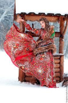 """Купить """"Букеты де Флёр"""" платье макси - цветочный, платье из платка, макси платье"""