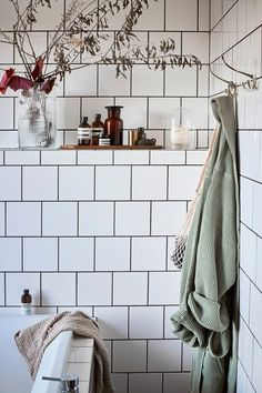 Upstairs Bathrooms, Dream Bathrooms, Decoration Inspiration, Interior Inspiration, Decor Interior Design, Interior Decorating, Home Spa, House Doctor, Living Furniture