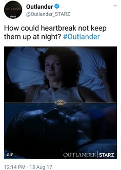 Alot of Kleenex is going to be needed for the first half of S3 I fear....  - Starz_Outlander - S3 starts September 10th