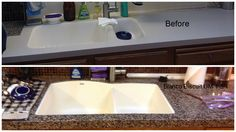Have an old kitchen and sink?  Let Granite Transformations update your kitchen - and, yes, we do great sinks!
