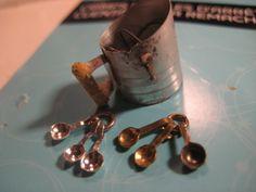tutorial cucharillas de mis pequeñas cucharas de medir para la mini cocina!